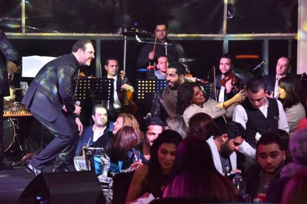 وائل جسار وانستازيا يتألقان بحفل منتصف العام