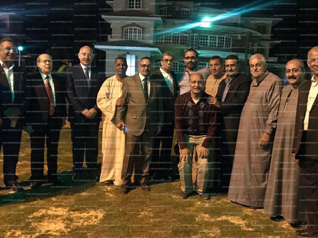 ياسر رزق لاهالي الاسماعيلية: المشاركة واجب وطنى فى لحظة فارقة من عمر الوطن