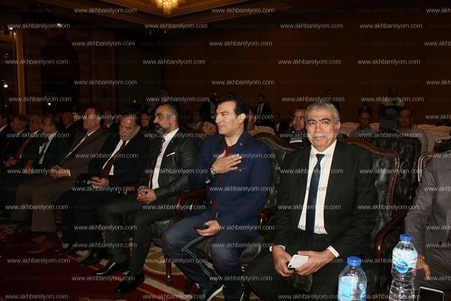 نجوم الفن والسياسة في عقد قران نجل المستشار أحمد فضالي