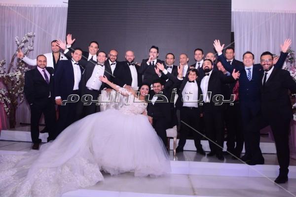 فؤاد وإيهاب توفيق وصافيناز يشعلون زفاف «ماجد وسهى»