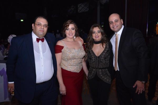 زفاف «كيرولس ومريم» برعاية مصطفى حجاج وأوكسانا