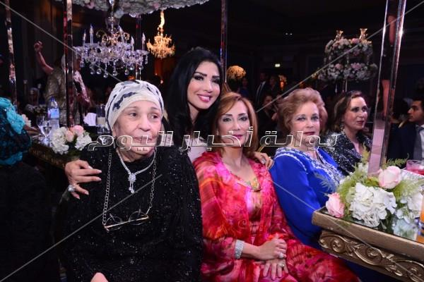وزراء وإعلاميين في زفاف حفيد وزير الداخلية الأسبق عبد الحليم موسى