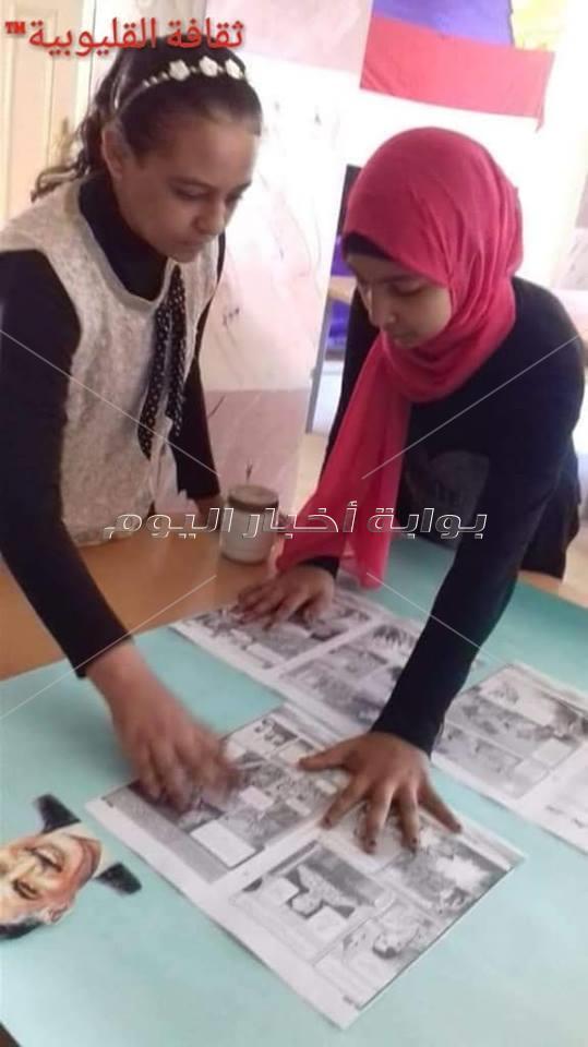 معرض ومجلات ومناقشات وورش بثقافة القليوبية