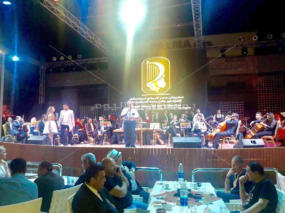 انطلاق فعاليات الدورة الثانية لمهرجان مصر الدولى لموسيقى الفرانكو