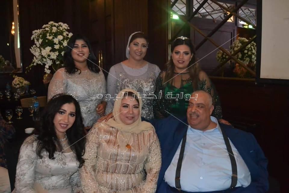 حماقي وحكيم وصوفينار وبوسي نجوم زفاف «مصطفى ونميس»