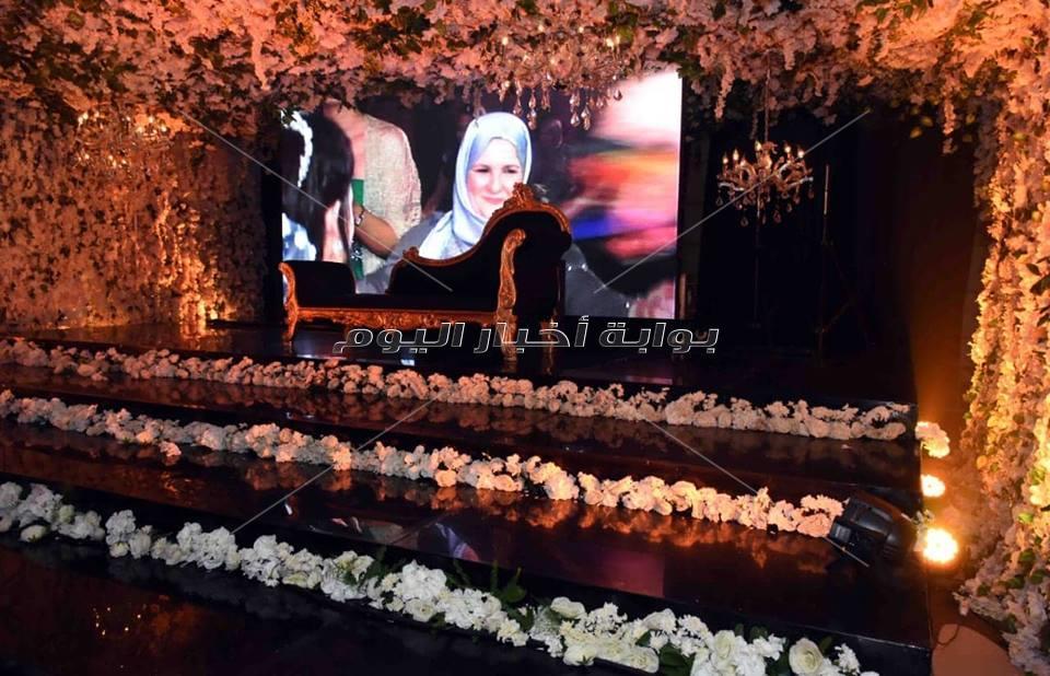 حفل زفاف لينة ومحمد برعاية حكيم