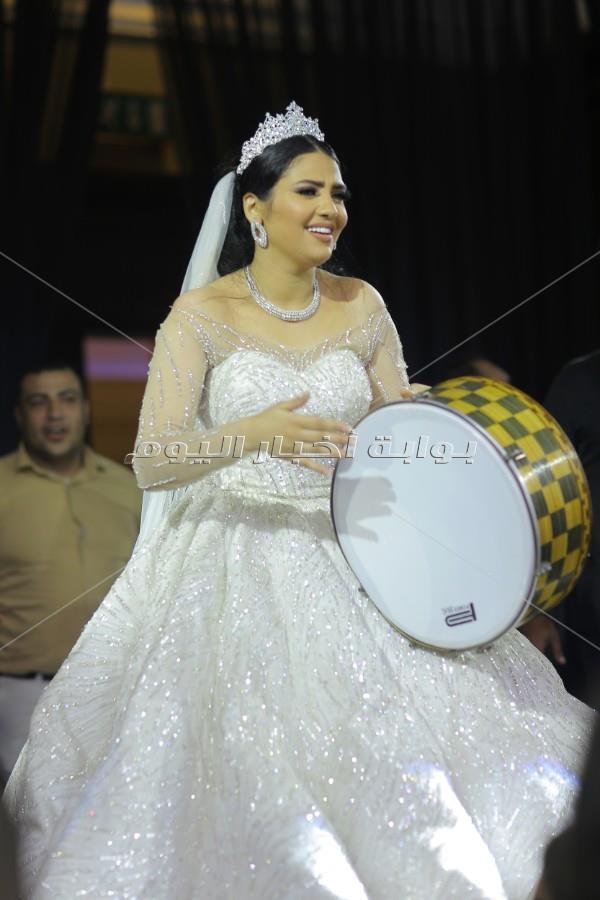 زفاف أسطوري لـ«شيرين يحيى» بتوقيع تامر حسني وفؤاد وسامو زين