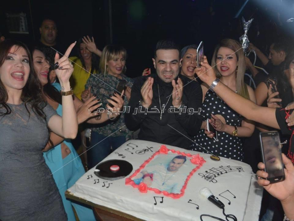 حمزة الصغير يحتفل بعيد ميلاده وسط نجوم الفن