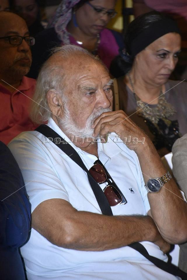 ندوة دريد لحام على هامش مهرجان الإسكندرية السينمائي