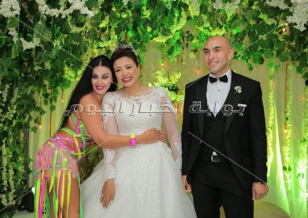 جنات وصافينار تشعلان زفاف «شادي وندا»
