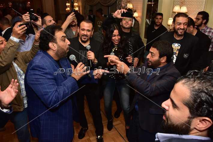 نجوم الغناء يحتفلون بعيد ميلاد حميد الشاعري