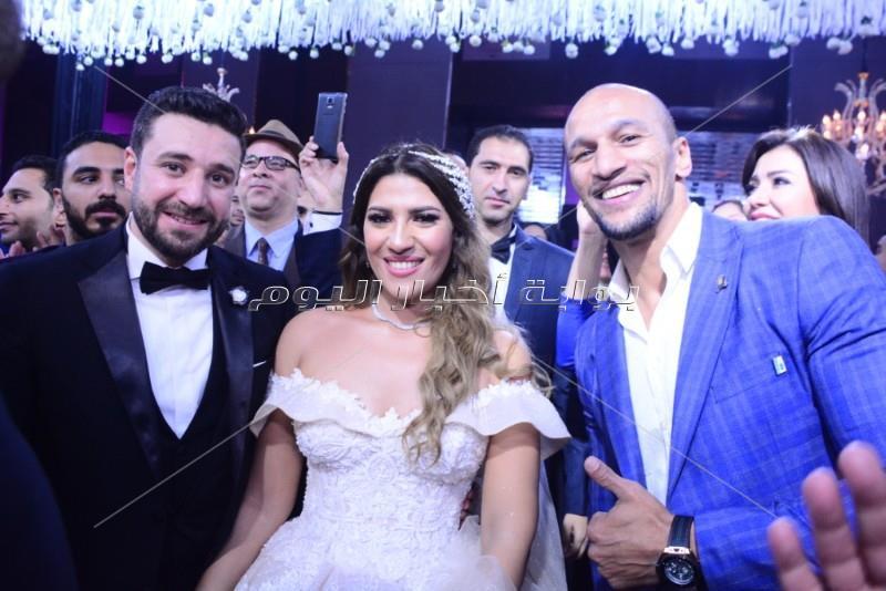 حفل زفاف ابنة صلاح عبد الله بحضور نجوم الفن