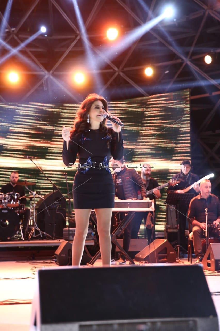 حفل إليسا في ساقية الصاوي