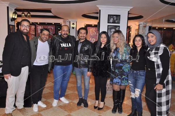 الرداد وشيكو يحتفلان بافتتاح مشروع محمد ثروت
