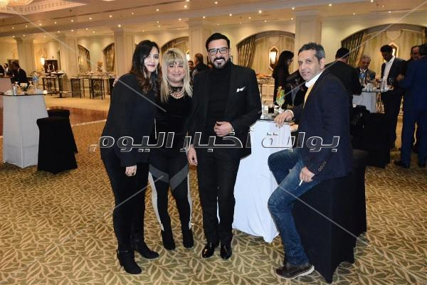 محمد رجب ونرمين ماهر في حفل «كريسماس كونكورد»