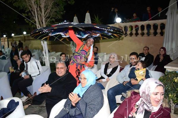 محمد رشاد يحتفل بـ«الكريسماس» في بروسيا مصر