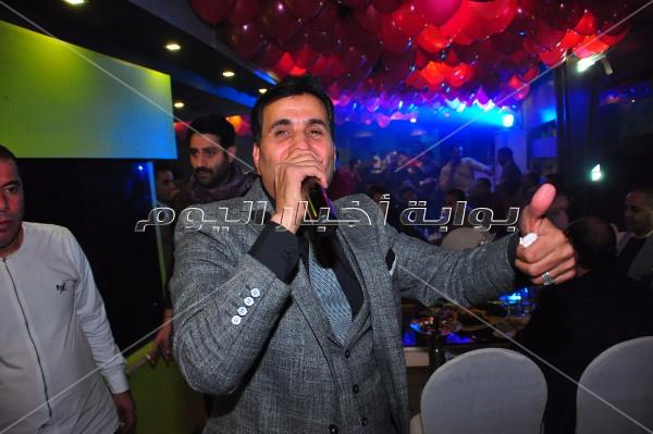 شيبة يُشعل حفله بـ«الدقي» مع طارق عبدالحليم وحمزة الصغير