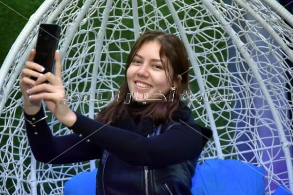 كارمن سليمان تتألق في حفل إطلاق أحد الهواتف المحمولة