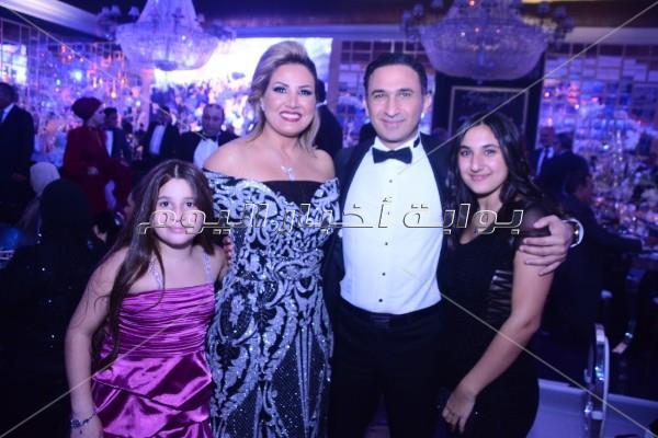 راغب علامة وجوهرة نجما زفاف ابن رجل الأعمال عمرو المرصفاوي