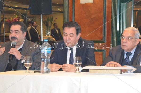 «ليونز القاهرة» يُكرم سميرة أحمد وخيري رمضان واسم إبراهيم سعده
