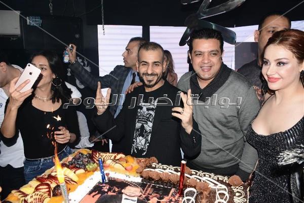 الليثي وألاكوشنير وأوكسانا ومروة يحتفلون بعيد ميلاد جمال شوقي