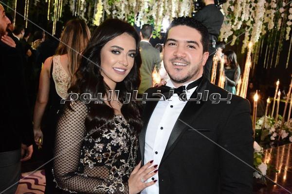 أوكا وأورتيجا وشذا في زفاف «حسين وچالا»