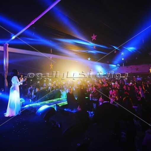 هيفاء تحتفل برأس السنة بتونس