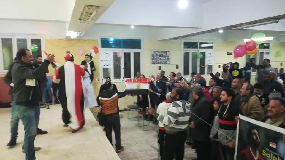 فرحه قرية نجريج بتتويج محمد صلاح بأفضل لاعب في إفريقيا