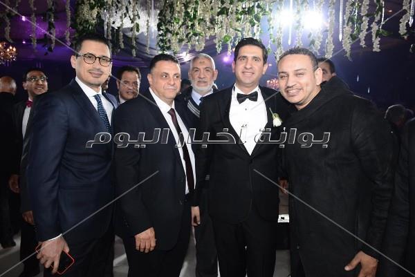 أحمد عيد وفلوكس في زفاف «خليل ورشا».. و وأوكا وأورتيجا يحيان الحفل