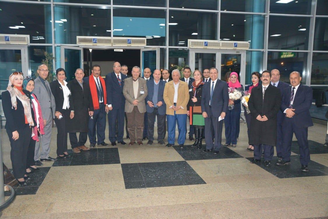 مطار القاهرة يستقبل أولى رحلات الخطوط الكورية