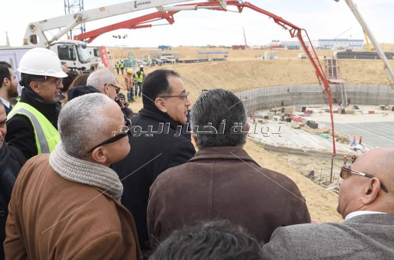رئيس الوزراء يتفقد أول فيلا مقامة في «جاردن سيتي الجديدة» _ تصوير: أشرف شحاتة