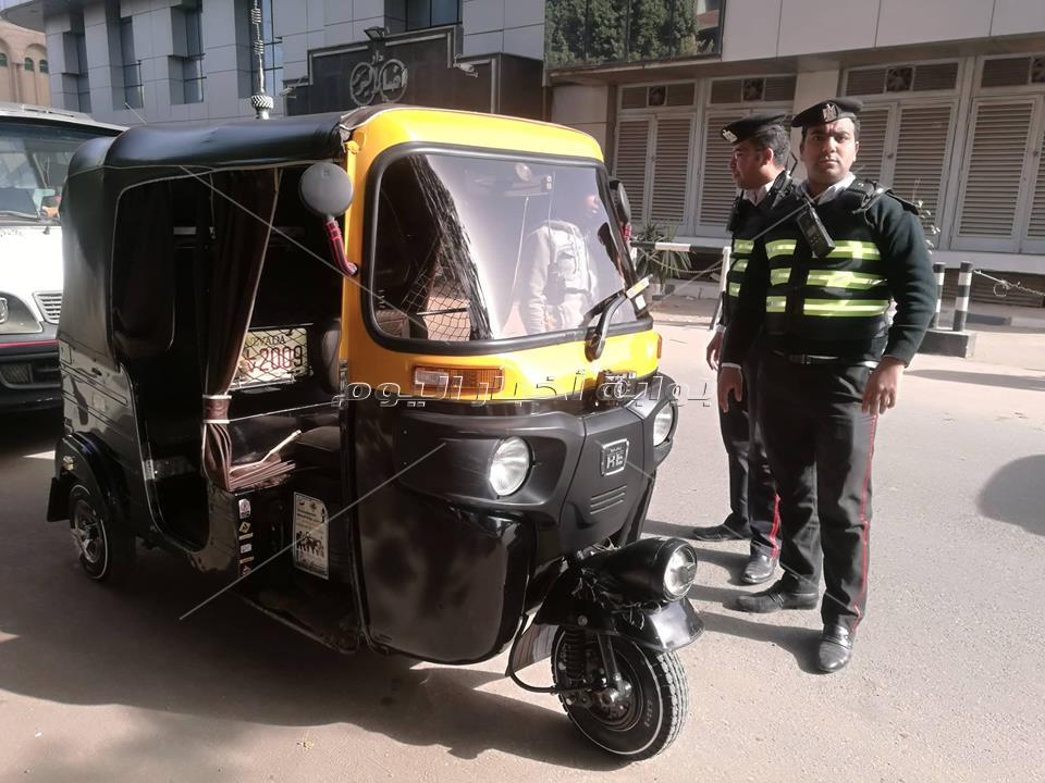 حملات مرورية تزامنًا مع عيد الشرطة