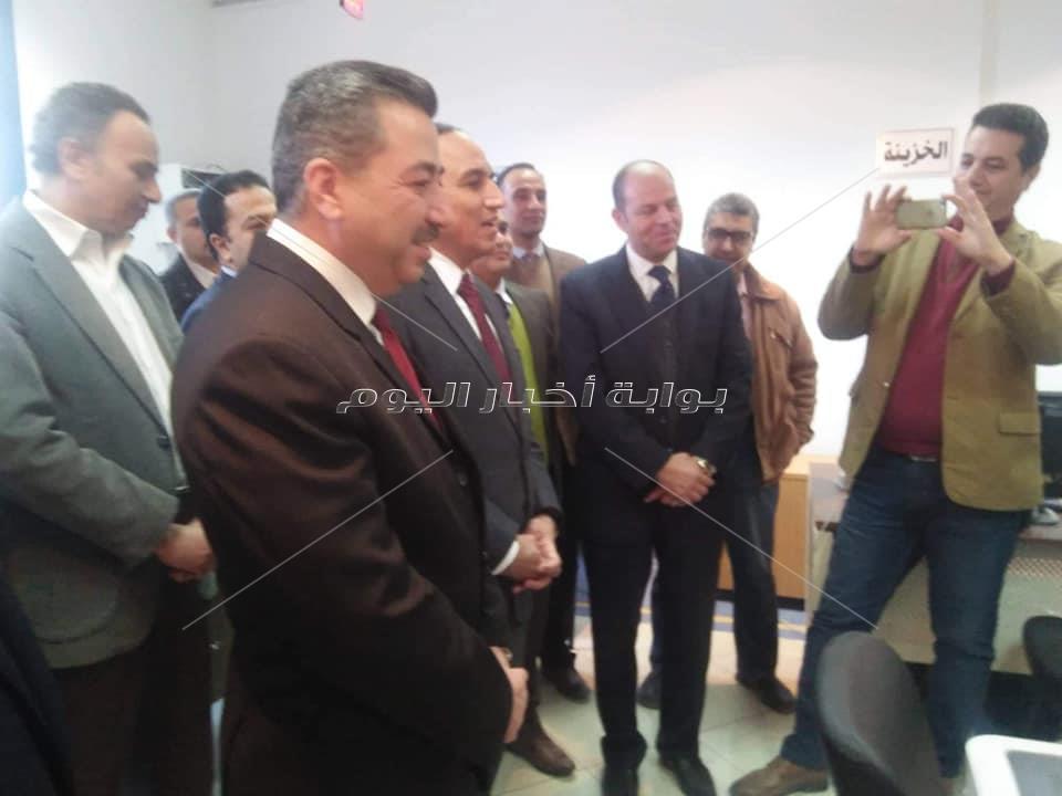 بالصور.. افتتاح مقر للشهر العقارى بنقابة الصحفيين