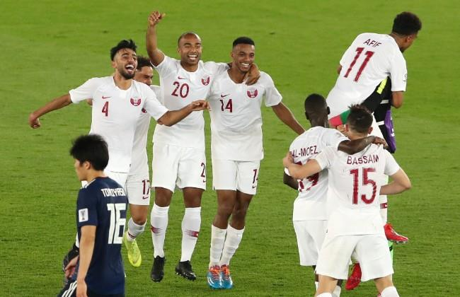 11 لقطة من فوز قطر بكأس أسيا