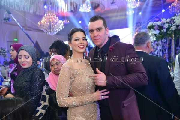 وزراء ونواب في زفاف «خالد ورشا».. وحماقي وبوسي يحييان الحفل