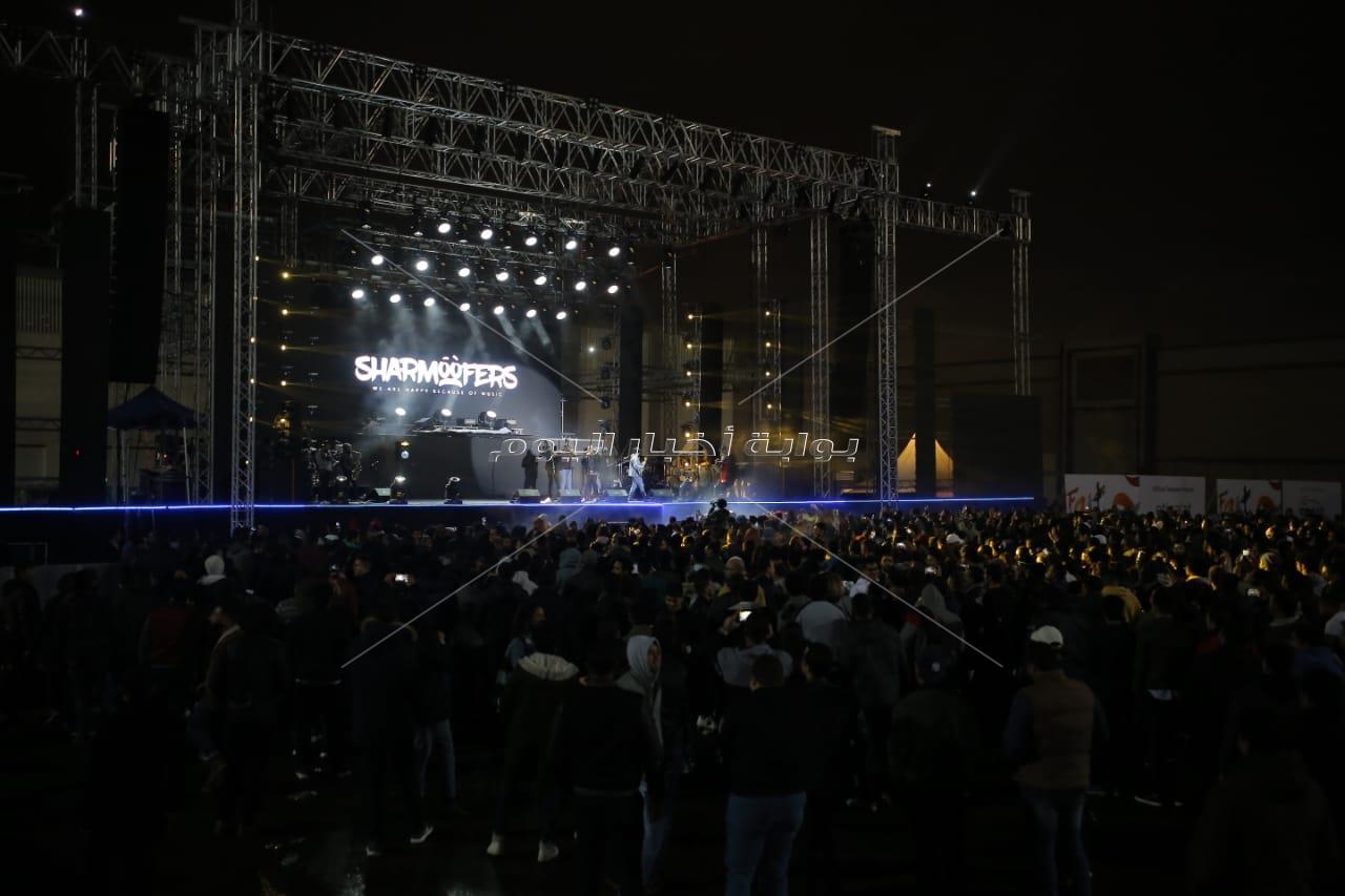 «شارموفرز» و«ديسكو مصر» يشعلون الأجواء بحفل جماهيري في «المنارة»
