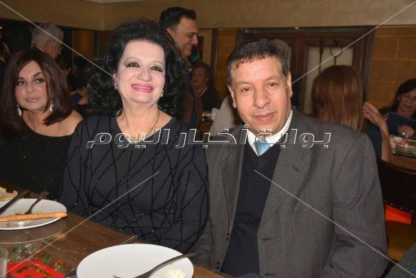 سمير صبري ومنى عراقي يحتفلان بعيد ميلاد ضحى الكواكبي