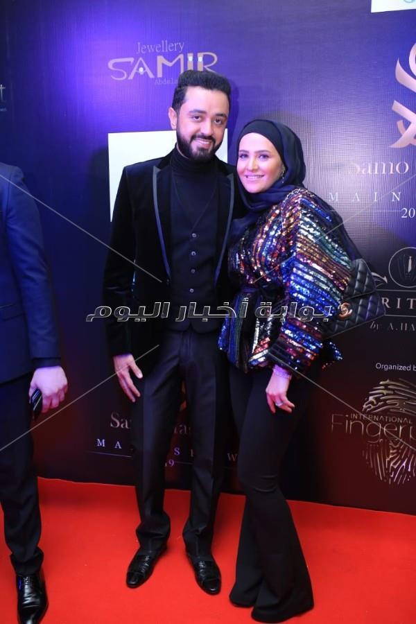 ريم البارودي عروس عرض أزياء سامو هجرس