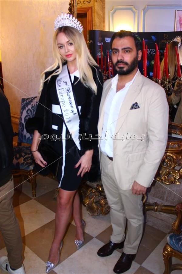 ليلى علوي ورامي جمال في حفل ملكة جمال السياحة والبيئة