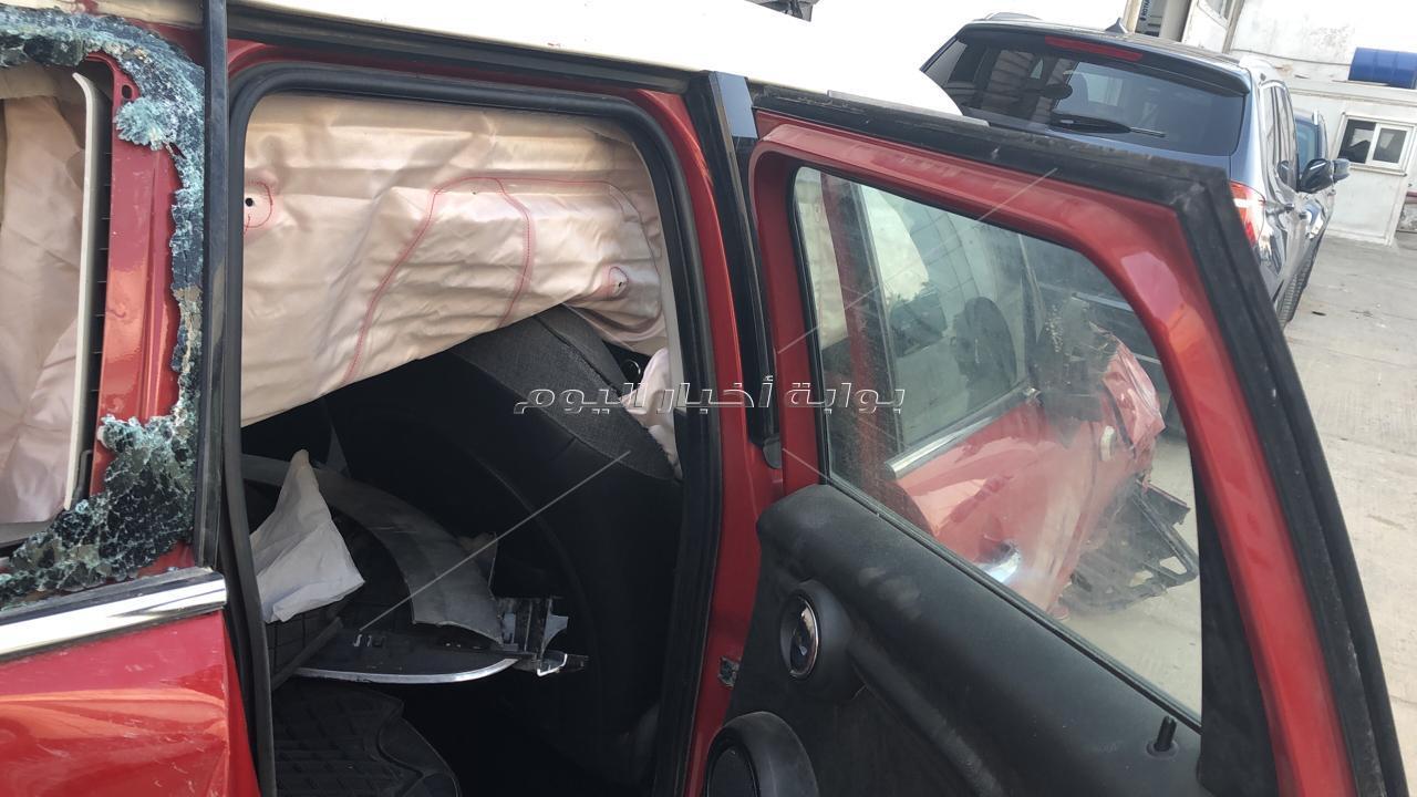 نجاة محامي عمرو دياب من حادث مروع