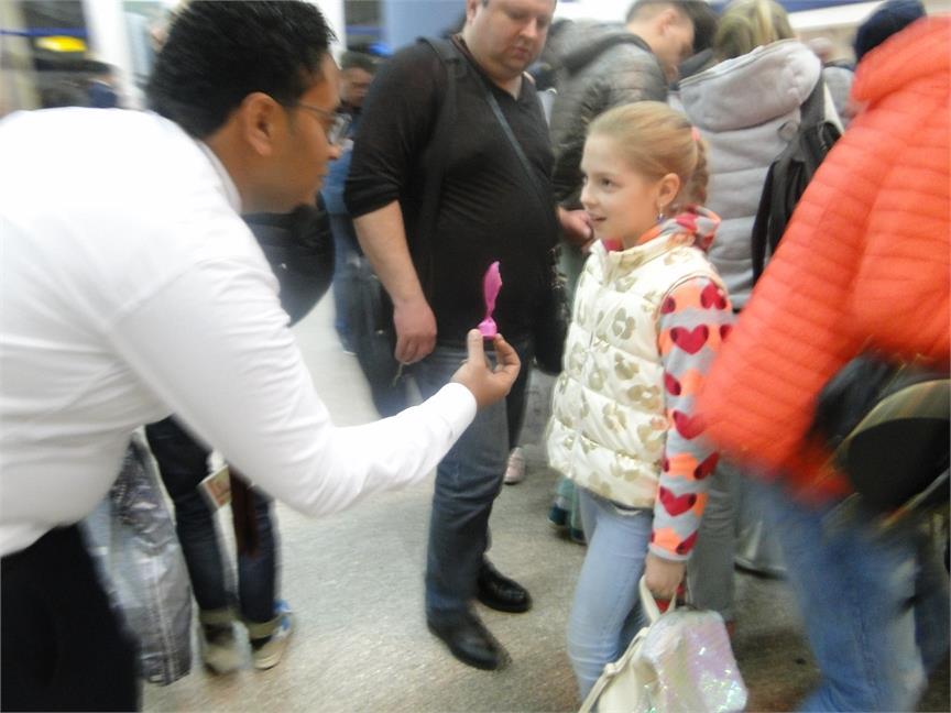 مطار مرسي علم يحتفل بخط طيران جديد من اوكرانيا