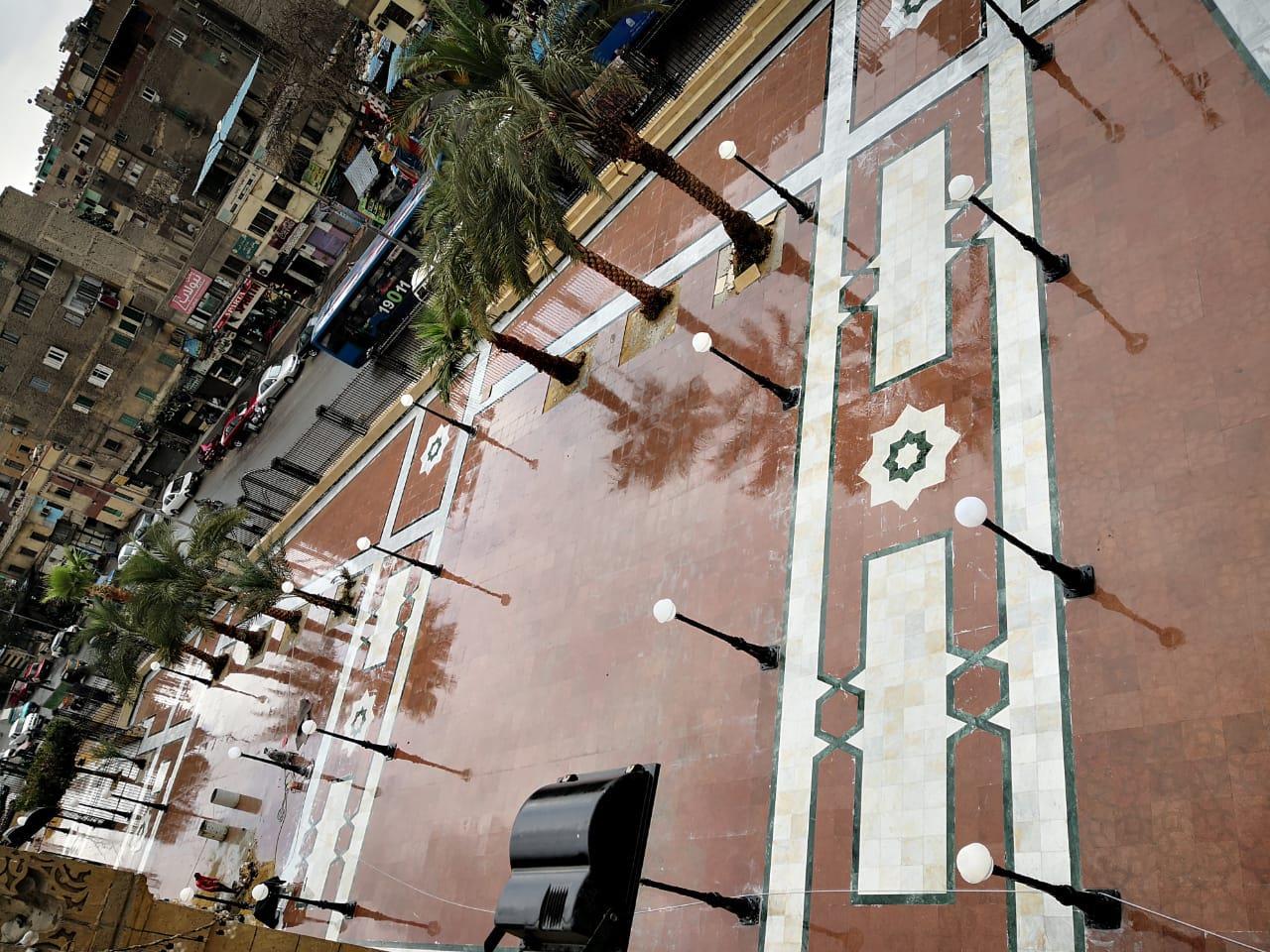 تطوير مسجد السيدة زينب
