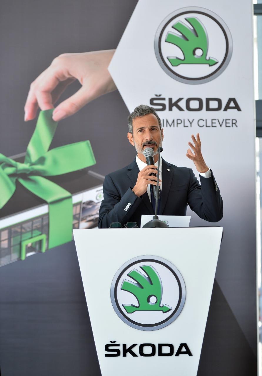 إفتتاح المركز المتكامل لكيان إيجيبت الوكيل المعتمد لسيارات سكودا