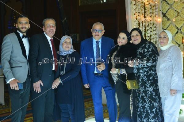 الرداد وإيمي سمير غانم وصوفينار في زفاف نهى السبكي