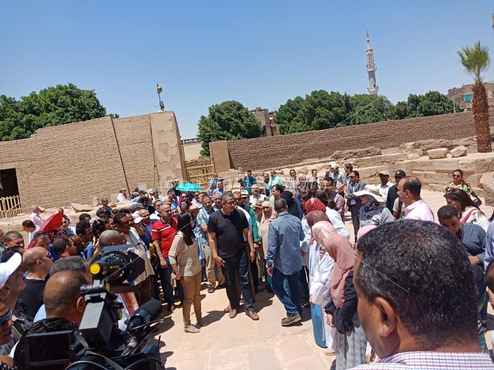 معبد الابت بعد ترميمه احتفالا بيوم التراث العالمي