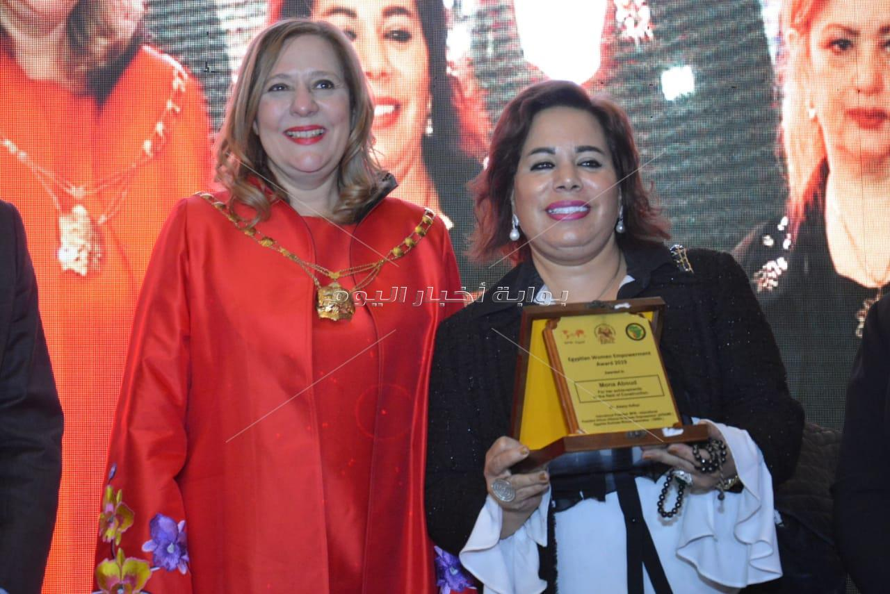 تنصيب ياسمين صبري سفيرة للمرأة الأفريقية