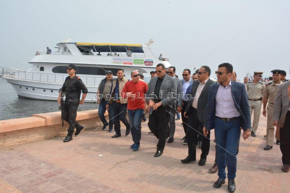 محافظ البحيرة  يشارك المواطنين بمدينة رشيد   الاحتفال بأعياد شم النسيم