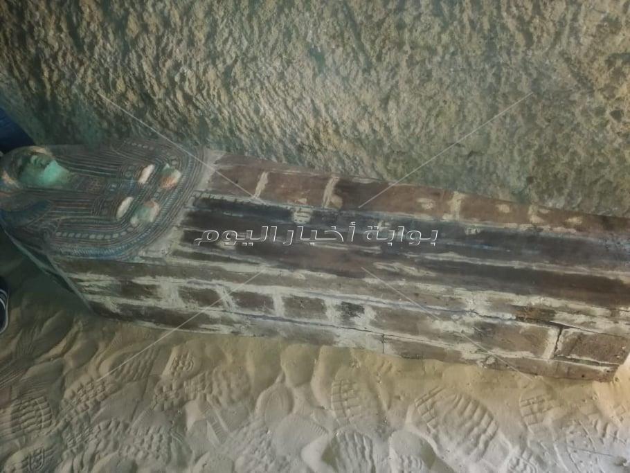 «مقبرة مزدوجة» بالهرم