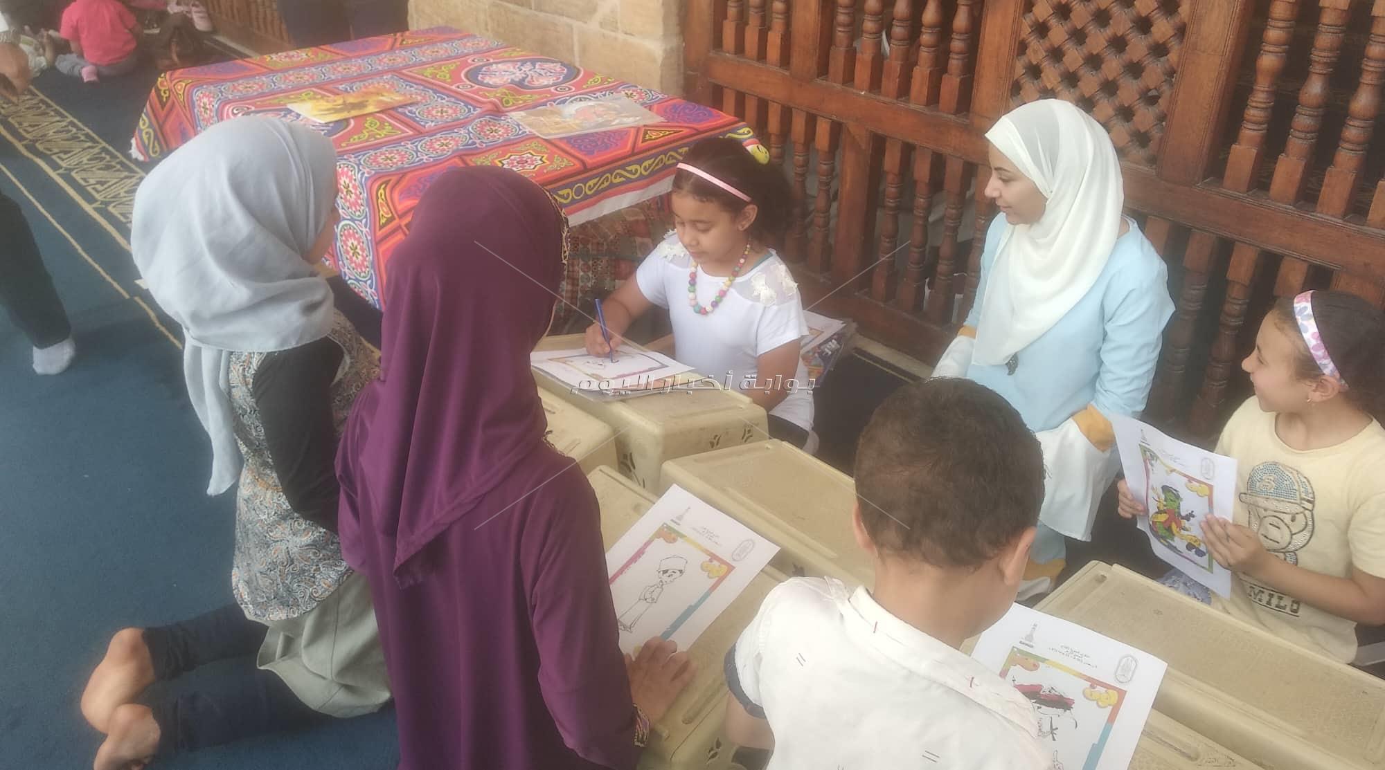 ركن «نور» الأقرب لقلوب الأطفال في احتفال الجامع الأزهر