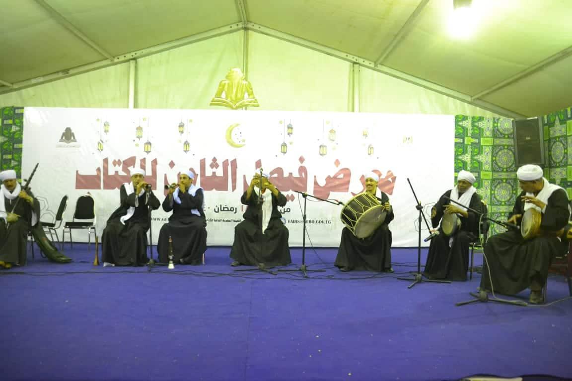 التنورة والفنون الشعبية وأنشطة الطفل تجذب جمهور معرض فيصل للكتاب